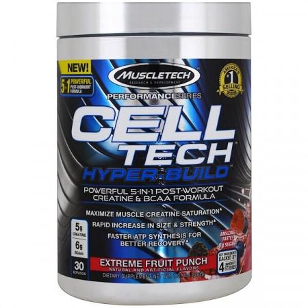 Muscletech Cell Tech Hyper-Build 428 г фруктовый пунш