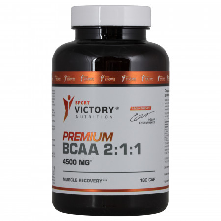 Sport Victory Nutrition Premium BCAA 2:1:1 180 caps