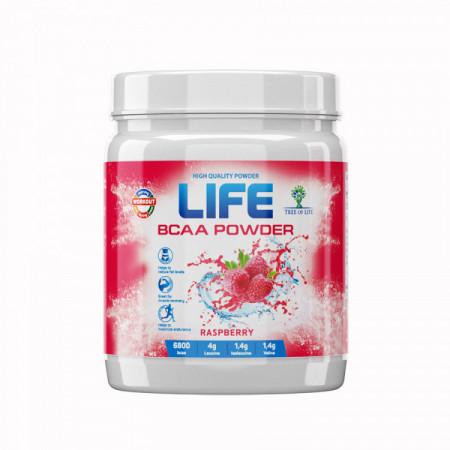Tree of life Life BCAA powder малина 200 г