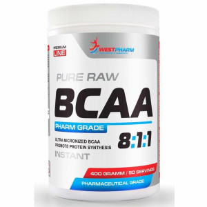 WestPharm BCAA 8:1:1 400 г 80 порций бабл-гам