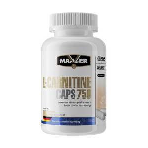 Карнитин Maxler L-Carnitine 750 mg 100 капсул