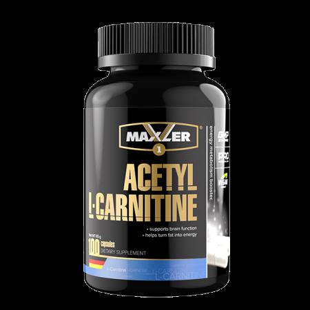 Карнитин Maxler Acetyl L-Carnitine 100 капсул