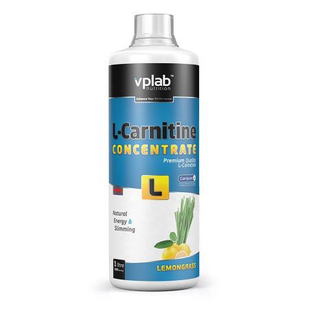 Карнитин VPLab L-Carnitine Concentrate 1000мл Лимон