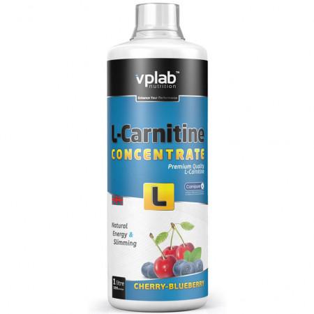 Карнитин VPLab L-Carnitine Concentrate 1000мл вишня-черника