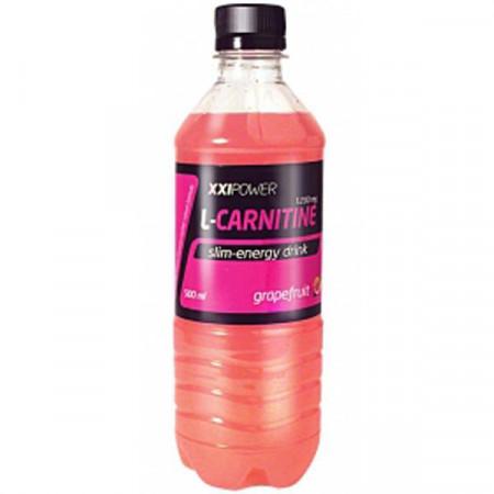 """XXI POWER напиток """"L-Карнитин"""" 0,5 л грейпфрут"""