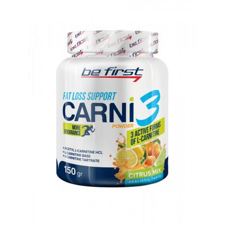 Be First CARNI 3 powder цитрусовый микс 150 г