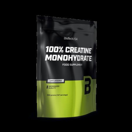 Креатин BioTech 100% Creatine Monohydrate 500г