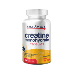 Креатин Be First Creatine Monohydrate 120 капсул