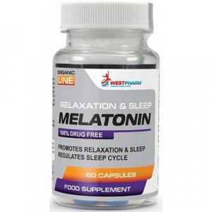 Мелатонин WestPharm Melatonin 5mg 60 капсул