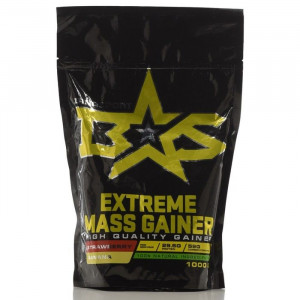 Гейнер BinaSport Extreme Mass Gainer Клубника - банан 1000г