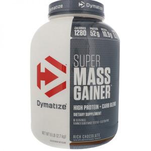 Гейнер Dymatize Super Mass Gainer 2700г Шоколад