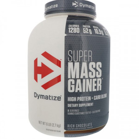 Dymatize Super Mass Gainer 2700г Шоколад