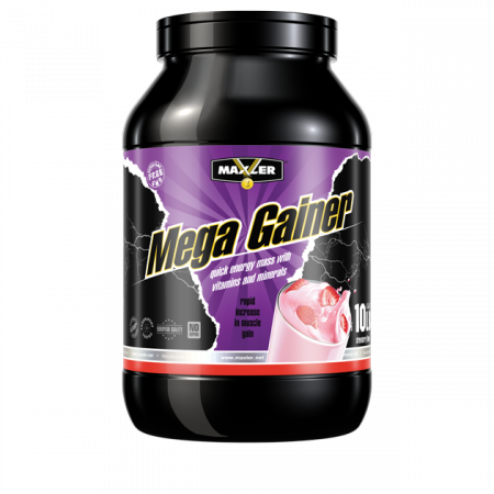 Maxler Mega Gainer 4540 г Strawberry