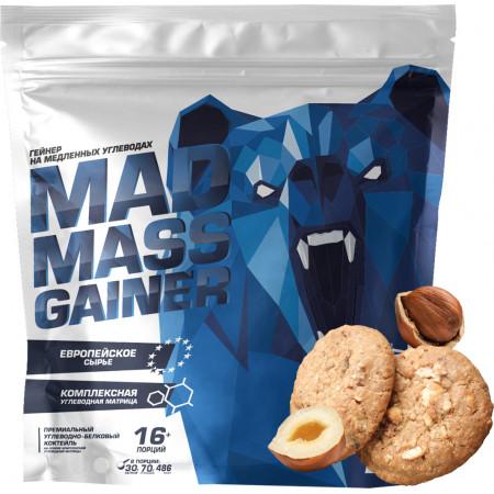 Siberian Nutrogunz Mad mass gainer 2000г Ореховое печенье
