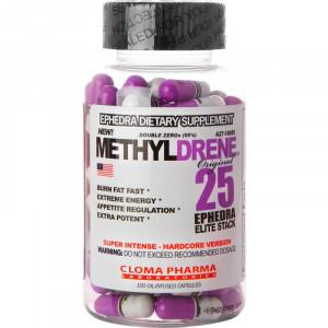Жиросжигатель  Cloma Methyldrene Elite 100 капсул