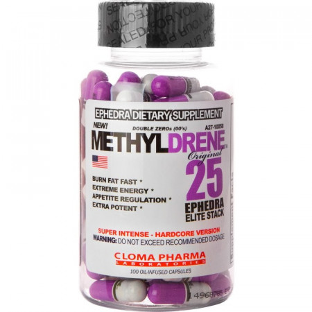 Cloma Methyldrene Elite 100 caps