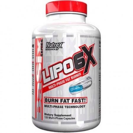 Nutrex Lipo-6X Basix Stim-Free 120 caps