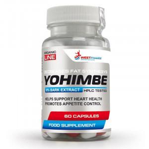 Йохимбин WestPharm Yohimbe Extract 50 mg 60 капсул