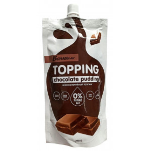 Топпинг Bombbar 240г Шоколадный пудинг