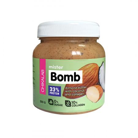 Bombbar CHIKALAB Паста миндальная с кокосом 250 гр