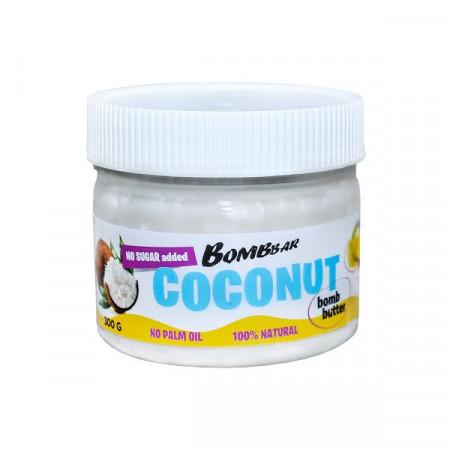BombBar Peanut Bomb Butter Паста кокосовая 300 г