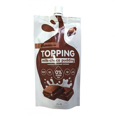 Bombbar Топпинг  240 г Молочно-шоколадный пудинг