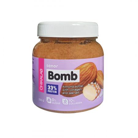 Bombbar CHIKALAB Паста миндальная с морской солью 250 гр