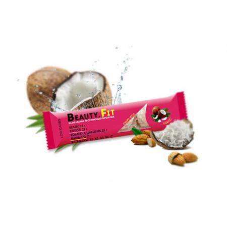 Кокосовые пирожные с протеином Beauty Fit  66г Кокос