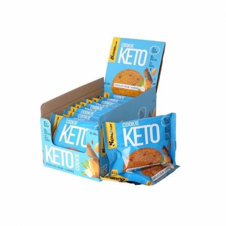 Печенье Кето Bombbar 40гр Шоколадный крем-миндаль