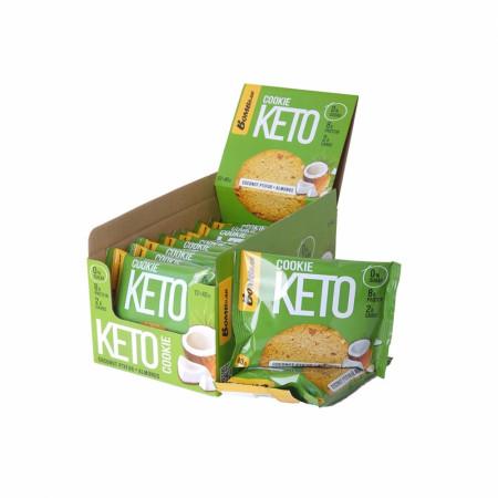 Печенье Кето Bombbar 40гр Кокосовый птифур с миндалём