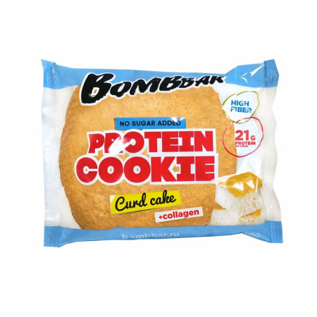 Bombbar Протеиновое печенье (10 шт шоубокс) 60 г Творожный кекс