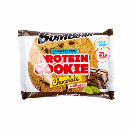 Bombbar Протеиновое печенье  60 г Шоколад