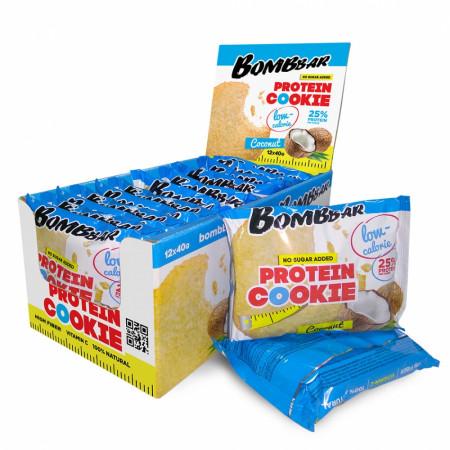 Протеиновое печенье Bombbar 40г Кокос