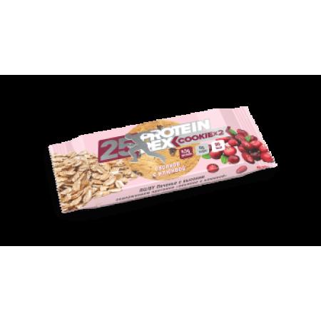 Печенье с высоким содержанием протеина Rex 50г Овсяное-клюква