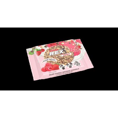 Rex Хлебцы протеиново-злаковые ягодный мильфей 55г 1 шт