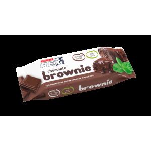 Пирожное протеиновое Rex 50г Брауни классическое