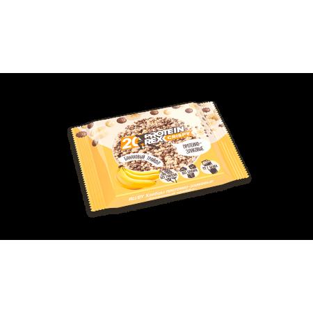 Rex Хлебцы протеиново-злаковые банановый трайфл 55г 1шт