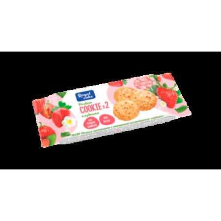 Rex Печенье с пониженной калорийностью 50г 1шт клубника