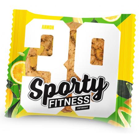 Sporty Печенье Fitness 60 гр. (х6) Лимон