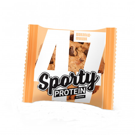 Sporty Печенье Protein 60 гр.Шоколад фундук