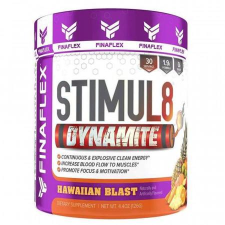 Finaflex Stimul 8 Dynamite 30 порций взрыв на гавайях