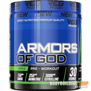 Предтрен Reg Pharm Armors of God 261г Яблоко