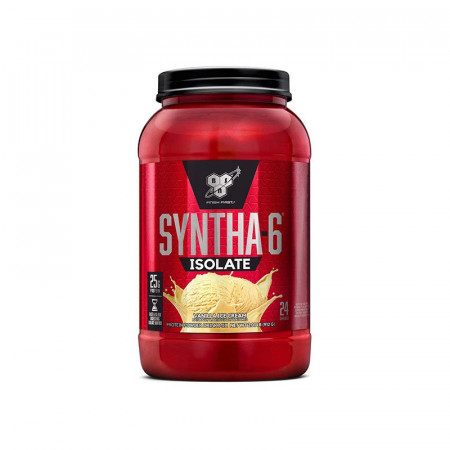 Протеин BSN Syntha-6 Isolate 910г Ванильное мороженое