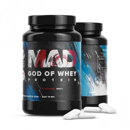Протеин MAD God of Whey  1000г Бабл-гам