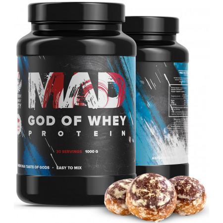 Протеин MAD God of Whey 1000 г Имбирный пряник