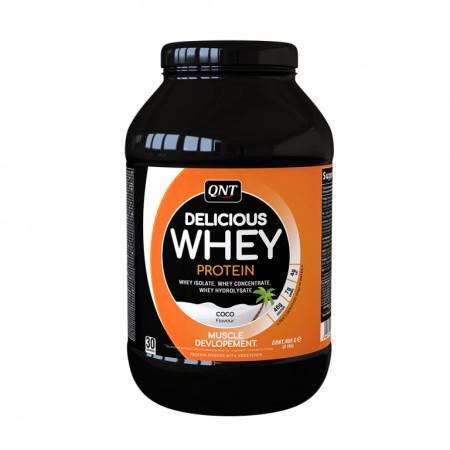 Протеин QNT Delicious Whey Protein 908г Кокос