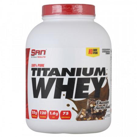 Протеин SAN 100% Pure Titanium Whey 2270г Шоколад