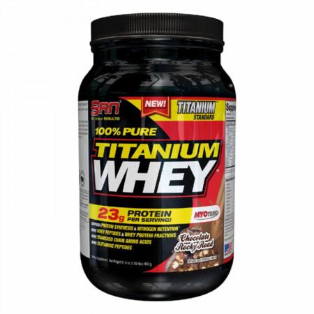 Протеин SAN 100% Pure Titanium Whey 908г Шоколад