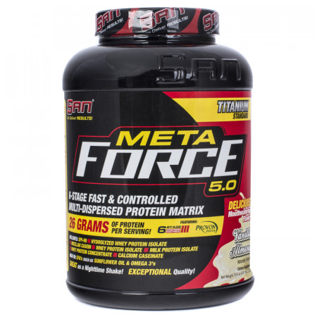 Протеин SAN Metaforce 5.0   2270г Ваниль