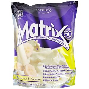 Протеин SYNTRAX MATRIX 5.0 2270Г Банановый крем